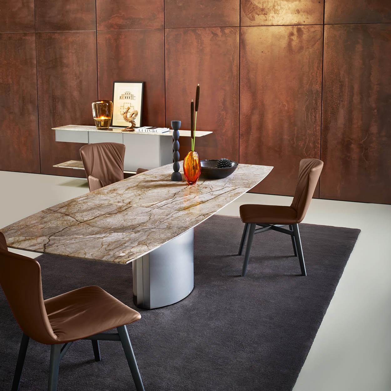Dreanert tafel Adler Oxford Grey