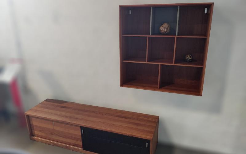 Tv-meubel met designelement Team 7